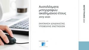 Αποτελέσματα μετεγγραφών ακαδημαϊκού έτους 2019–2020
